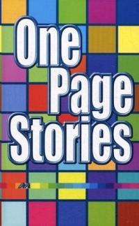 Рассказ на одну страницу.One page stories